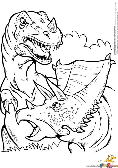 lego t rex coloring page kleurplaat printable t rex and triceratops coloring page