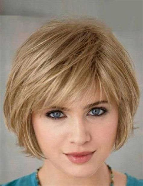 haircuts fine hair bangs short hairstyles for fine straight hair the best short