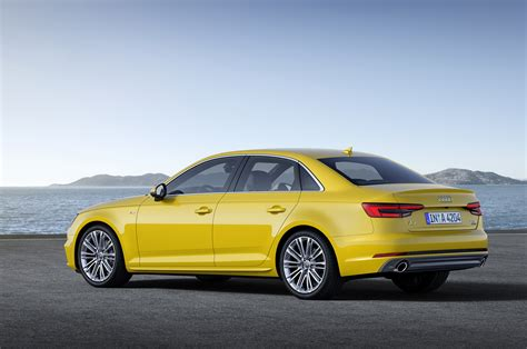 Weight Audi A4 2017 Audi A4 Revealed With Lighter Weight Evolutionary Design