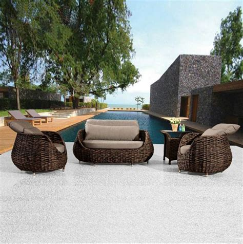 rattan patio furniture sets webetop outdoor rattan furniture set garden furniture new