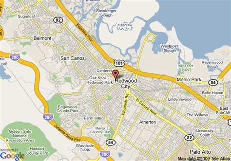 map of redwood city california map of americas best inn redwood city redwood city