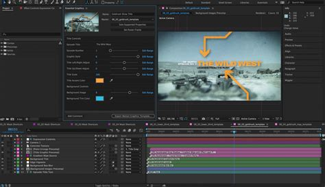 adobe effects templates after effects cc april 2017 in depth essential graphics