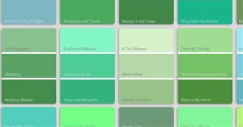 types of green color shades of green logo inspiration pinterest