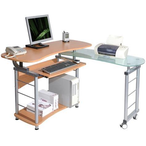 scrivania computer scrivania per computer angolare con piano ruotabile oem
