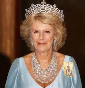 Sapphire Chandelier Earrings Camilla Duchess Of Cornwall