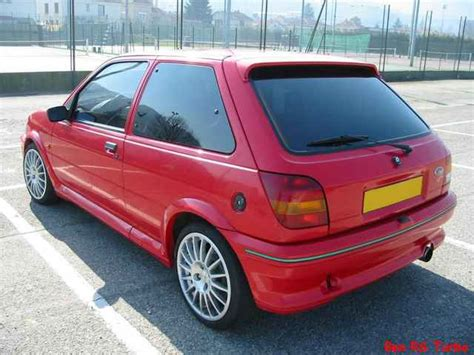ben rs turbo  les ford fiesta rs turbo xri  xr