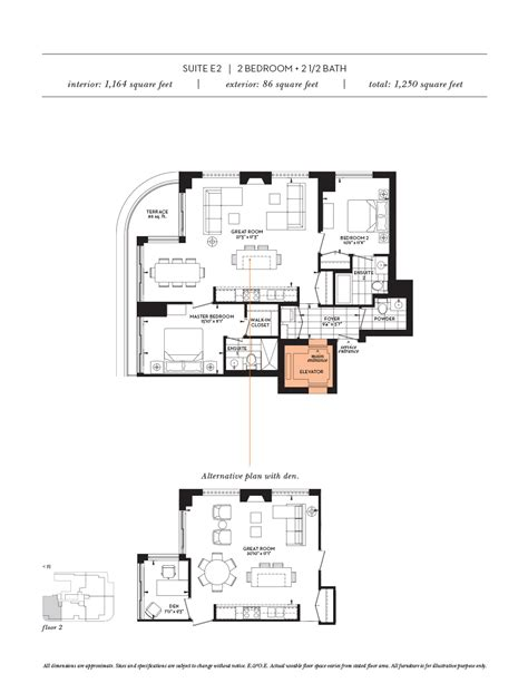 luxury condo floor plans floor plans the davies luxury condo