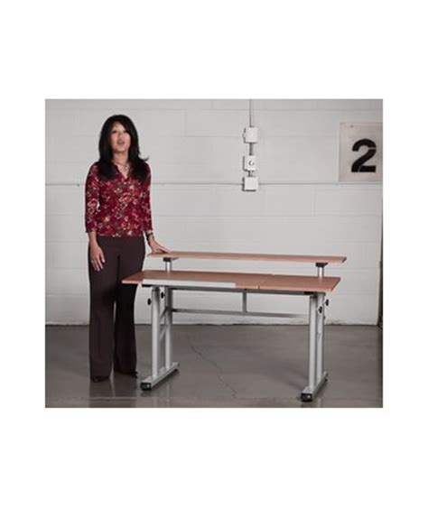 Safco Adjustable Height Split Top Drawing Table 3965mo Safco Split Level Drafting Table