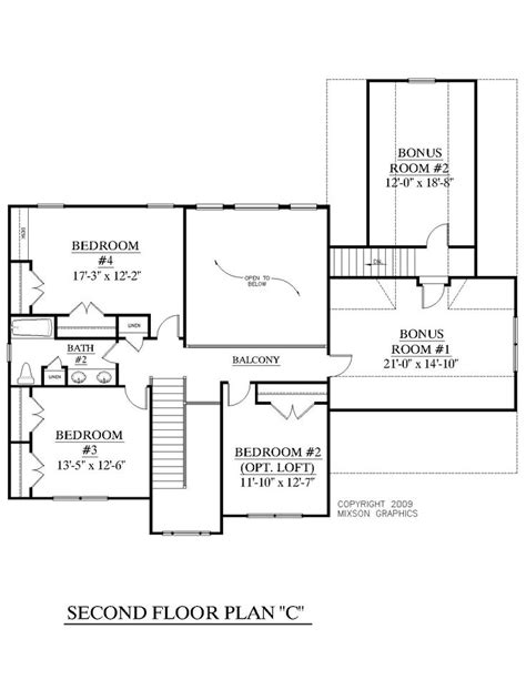 master bedroom upstairs floor plans house plan 2657 c longcreek quot c quot second floor traditional