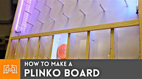 plinko board woodworking youtube