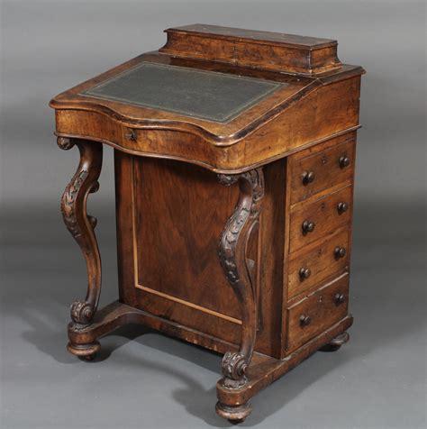 lot no 147 a figured walnut davenport desk of