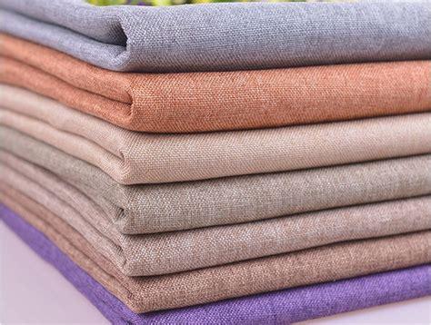Katun Linen Impor New Cotton Linen free shipping pillow cushion sofa fabric thick fabrics and linen curtains plain cotton