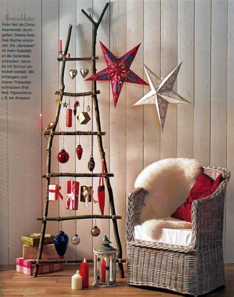 creative  unusual diy christmas tree ideas