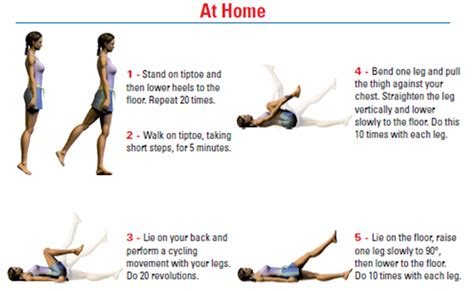5 easy exercise at home