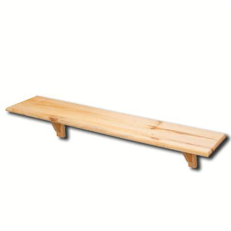 unfinished wood floating shelves unfinished floating pine wood shelf exportimes