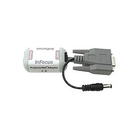 Adaptor Infocus infocus projectornet ethernet adapter sp network adpt r b h