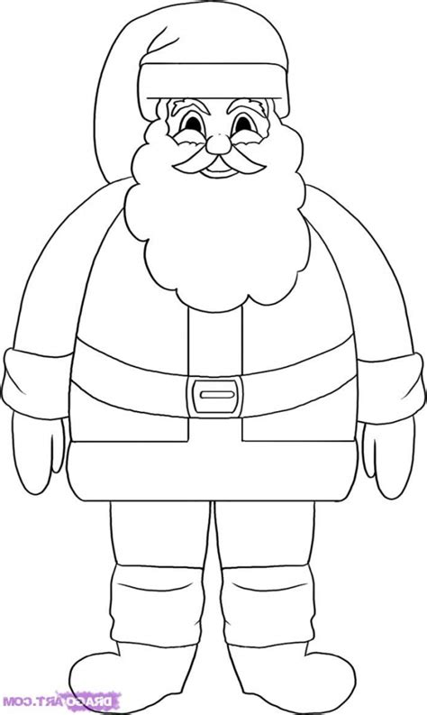 santa coloring pages simple coloring pages how to draw easy santa maxresdefault