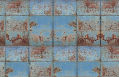 metall backsplash wandbilder patina ageing with wall mural wallpaper mr