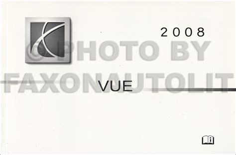 car service manuals pdf 2008 saturn sky transmission control 2008 saturn vue owner s manual original