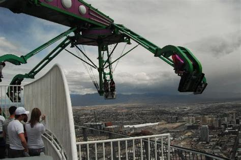 amusement park ride roof optional ride on the roof picture of stratosphere hotel