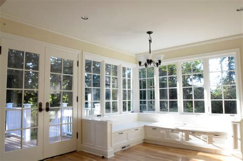 wrap around kitchen cabinets built ins traditional kitchen portland by emerick