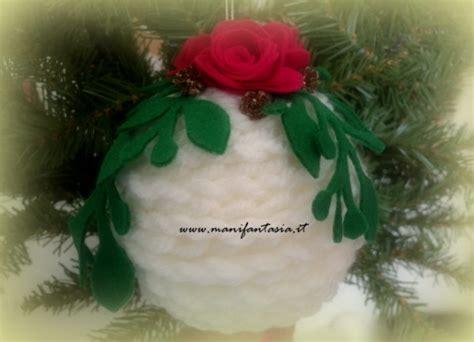 fiori natalizi fai da te decorazioni natalizie fai da te palline di manifantasia