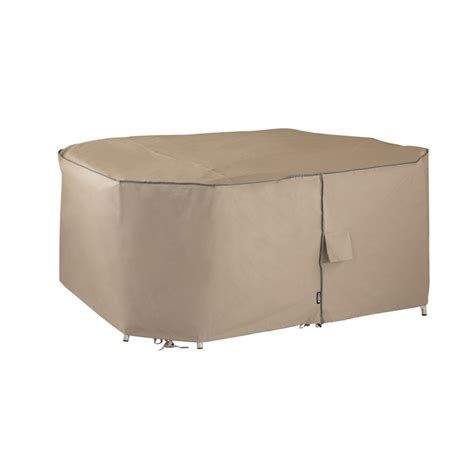 Outdoor Furniture Covers Bunnings Polytuf 5 Classic Post Leg Furniture Setting Cover
