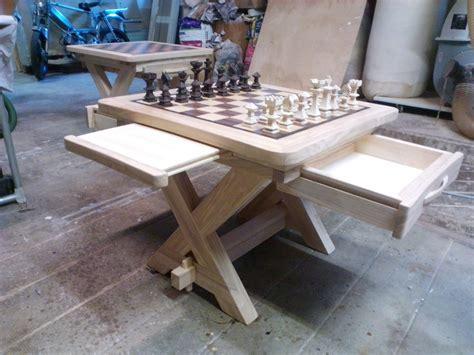 table echiquier table basse meuble 201 chiquier menuiserie fagot