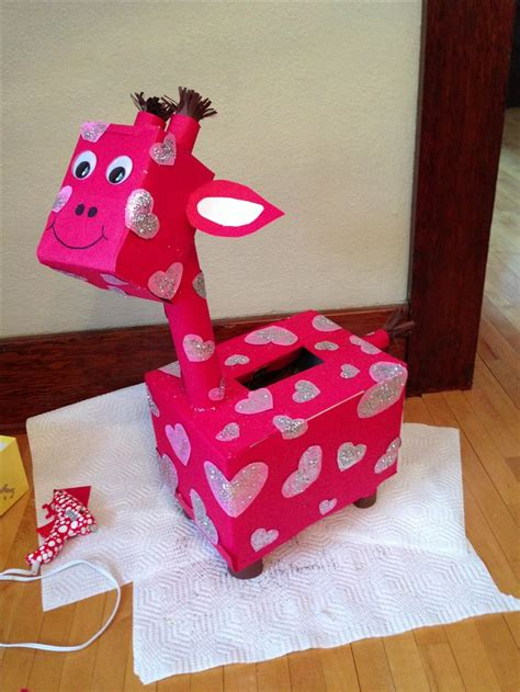 giraffe s day box valentines day