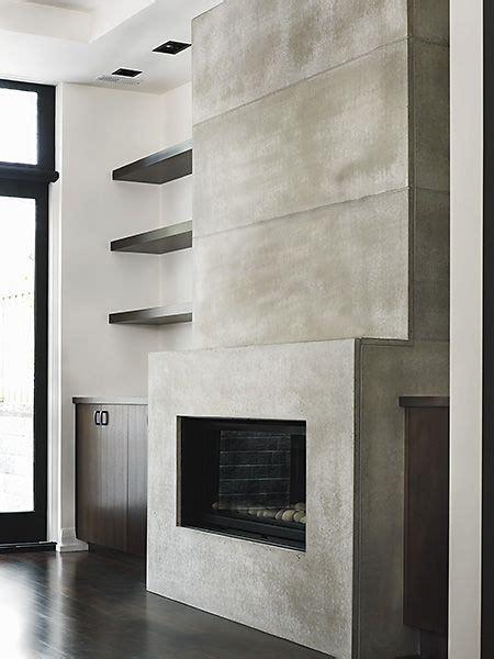 Cheminee En Beton by Chemin 233 E En B 233 Ton Concrete Fireplace Foyer