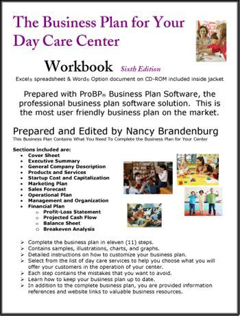 home child care business plan day care center business plan business plans pinterest