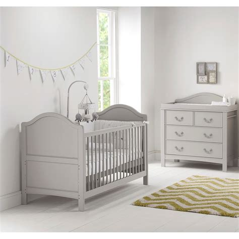 Cot Bed Nursery Furniture Sets East Coast Toulouse Nursery Baby S 2pc Room Set Cots Cot Beds