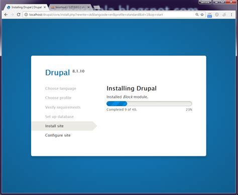 format date php drupal 7 install drupal 8 1 10 opensource php cms on windows 7 x64