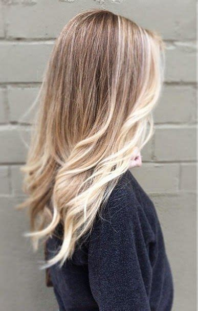 too blonde highlights in front of hair blonde in front highlights and balayage on pinterest