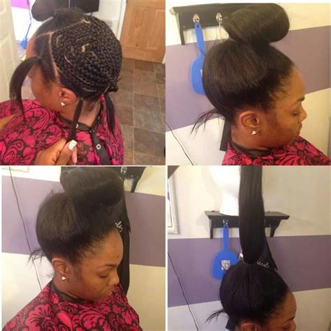 braiding short hair for sew in 17 best images about flawless hair sew in braid patterns