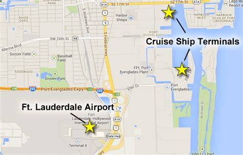 Fort Lauderdale Car Rental Shuttle To Port Everglades by Getting To Port Everglades Fort Lauderdale Port