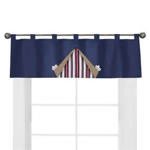 nautical window valance sweet jojo designs nautical nights window valanc target
