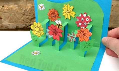 how to make 3d mothers day cards card archives ted s