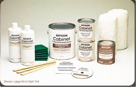 rustoleum kitchen cabinet transformation kit rust oleum s cabinet transformations review decor and