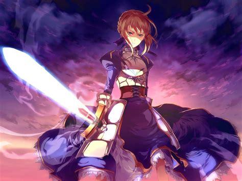 Fate 0 Anime fate series anime type moon saber fate zero fate stay