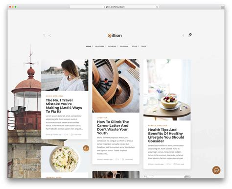 lifestyle blog design top 20 wordpress themes for freelancers 2017 colorlib