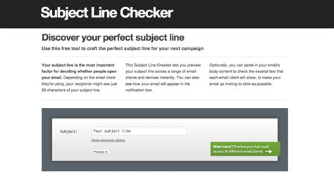 subject line checker from litmus follow up letter email subject line letter sle