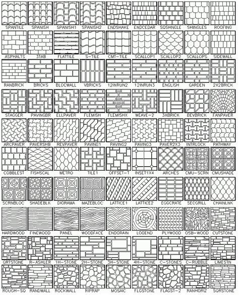 grid pattern solidworks autocad hatch patterns contains 365 patterns for autocad