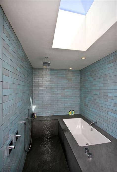 skylight in bathroom problems modern new malibu house life on the edge