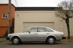 1980s Toyota Parked Cars 1980 Toyota Corona Liftback Luxury Edition