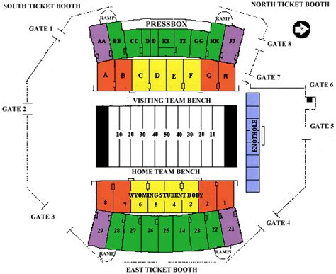 southwest motors events center seating chart cu csu seating chart the official athletics site of