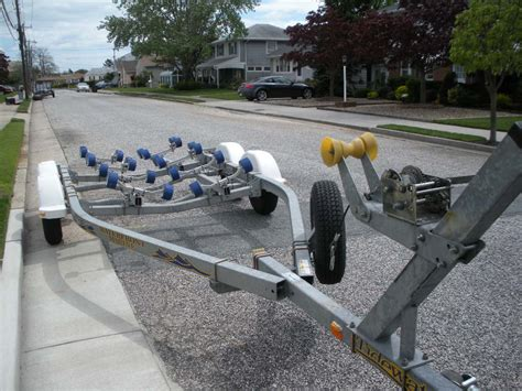 boat trailer parts south jersey three boat trailer for sale pic the hull truth boating