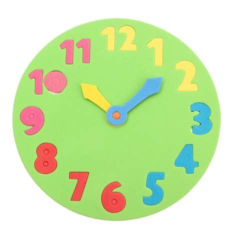 Mainan Anak Edukasi Clown Clock jam mainan dari bahan spon barutino sandal