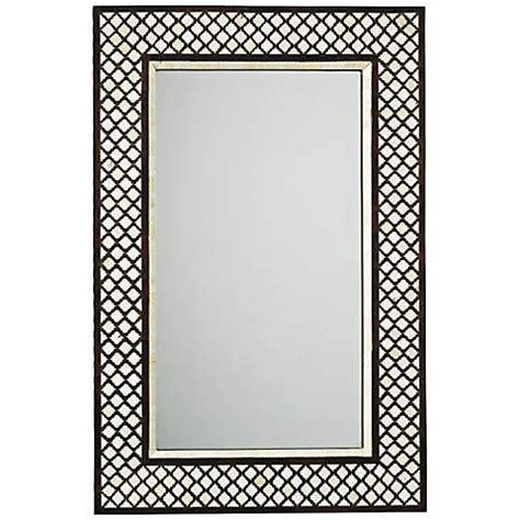bone inlay mirror black and white bone inlay mirror