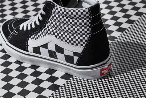 vans checkered pattern vans remixes iconic checkerboard vans india official site